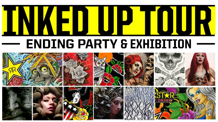 Inked Up World Tour Artist Finale and Wrap Party