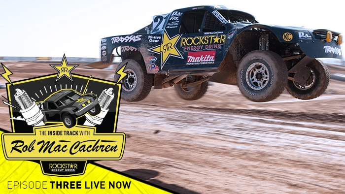 The Inside Track with Rob Mac EP 3 LIVE NOW