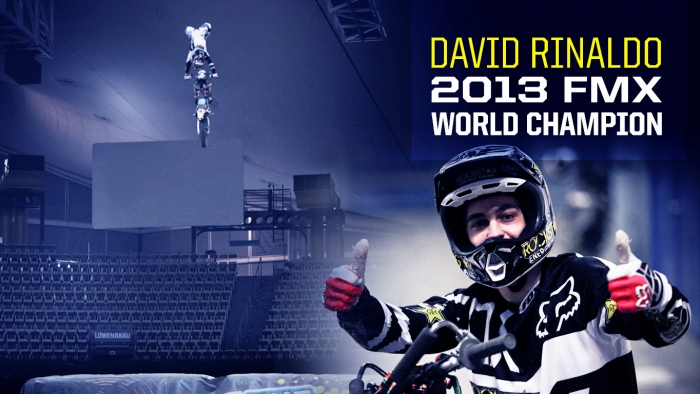 David Rinaldo Claims World Championship