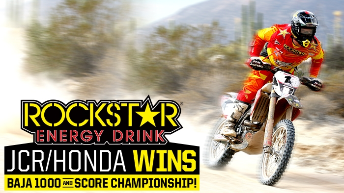 JCR/HONDA TAKES THE 2013 SCORE CHAMPIONSHIP