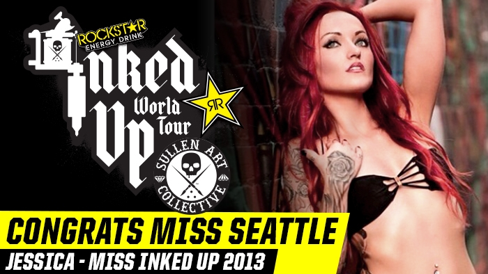 MISS SEATTLE WINS MISS INKED UP 2013