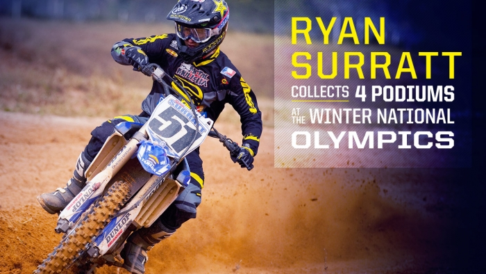 Star Racing Yamaha's Ryan Surratt has a Successful Thanksgiving Week at Mini O's