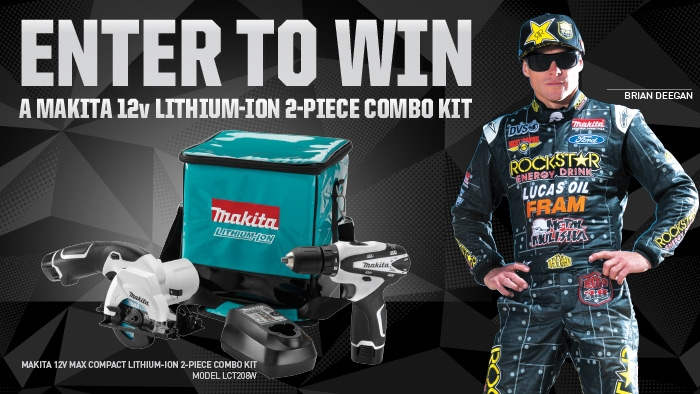 ROCKSTAR & UNITED MAKITA SWEEPSTAKES