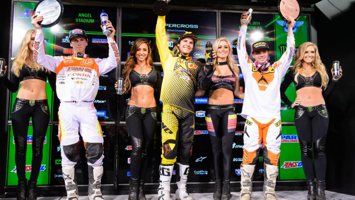 Rockstar Energy Racing Anaheim 1 Supercross Race Report