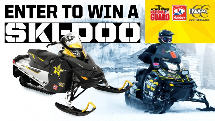 ROCKSTAR & HOLIDAY STATION IRON DOG/SKI DOO SWEEPSTAKES