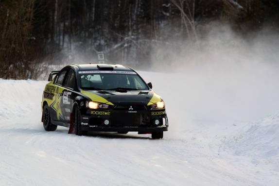 Antoine L'Estage dominates the Rallye Perce-Neige
