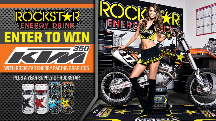 ROCKSTAR KTM MX/SX Sweepstakes