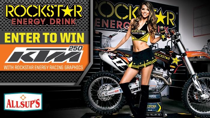 Rockstar Allsups/KTM Giveaway