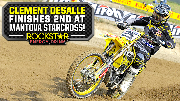 Clement Desalle Finishes 2nd in Mantova, Italy
