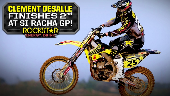 Clement Desalle Podium in Thailand