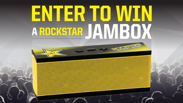 Terrible Herbst / Rockstar Jambox Sweepstakes