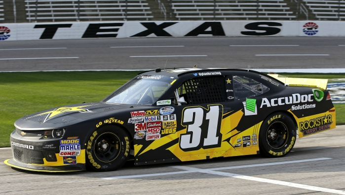 Dylan Kwasniewski No. 31 NNS Post-Race Report: Texas Motor Speedway