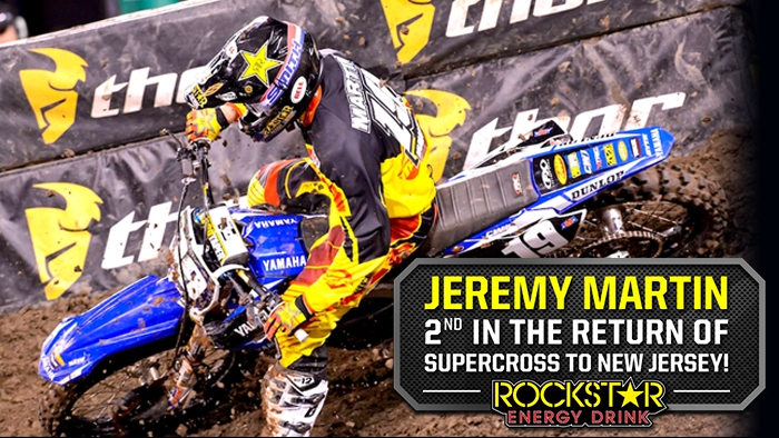 Jeremy Martin Finishes 2nd at Metlife Stadium!