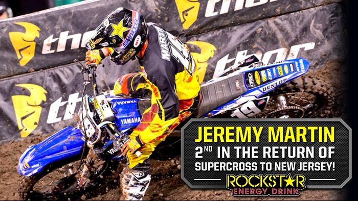 Jeremy Martin Finishes 2nd at Metlife Stadium!