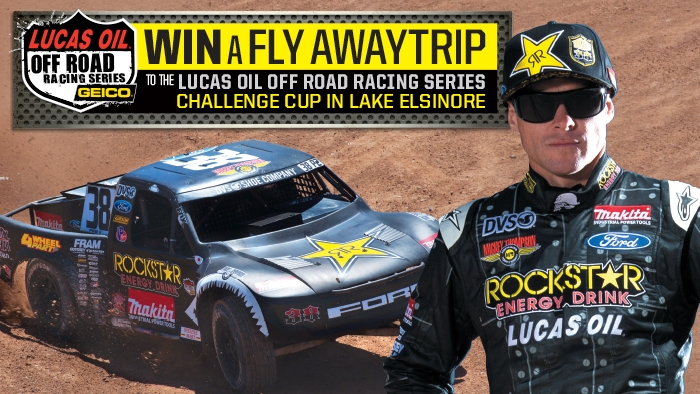 ROCKSTAR & LUCAS OIL OFF ROAD SWEEPSTAKES