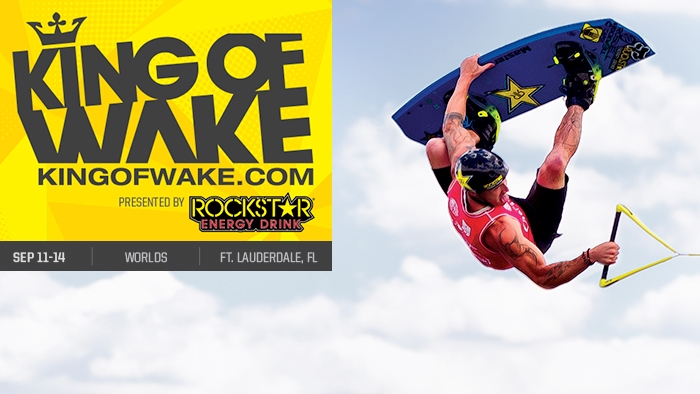 2014 Rockstar WWA Wakeboard World Championships Headed to Ft. Lauderdale