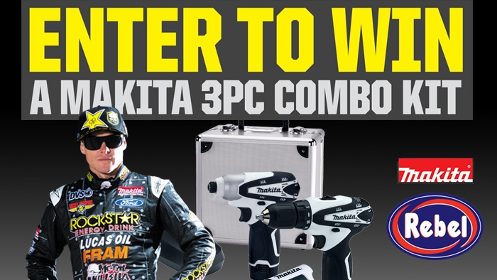 ROCKSTAR/MAKITA – REBEL OIL SWEEPSTAKES