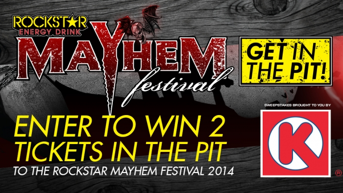 ROCKSTAR & CIRCLE K WEST MAYHEM FESTIVAL SWEEPSTAKES – MOUNTAIN VIEW