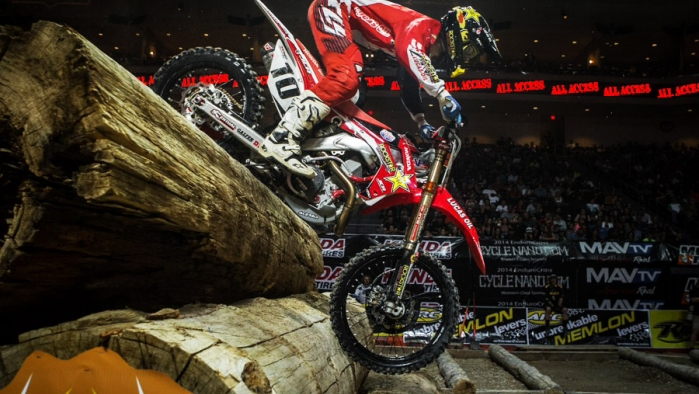 Colton Haaker grabs 2nd place and hands his JCR/Honda team a solid podium finish at the 2014 EnduroCross season opener.