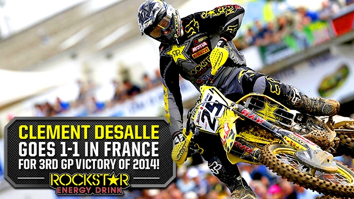 Clement Desalle Victorious at St. Jean D'Angely GP!