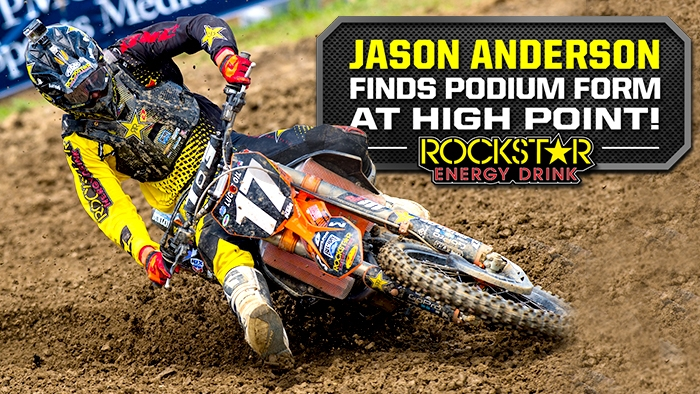 Jason Anderson Finishes 3rd at High Point