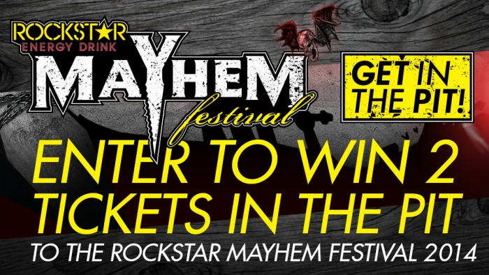 ROCKSTAR MAYHEM FESTIVAL SWEEPSTAKES – WANTAGH