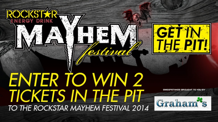 ROCKSTAR & GRAHAM OIL MAYHEM FESTIVAL SWEEPS – IL