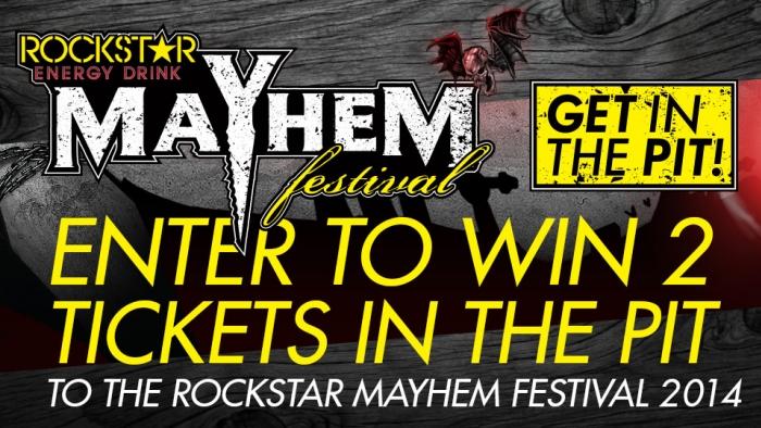 ROCKSTAR MAYHEM FESTIVAL SWEEPSTAKES – CAMDEN