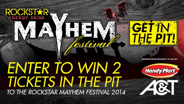 ROCKSTAR & HANDY MART/AC&T MAYHEM FEST SWEEPS BRISTOW