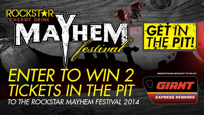 ROCKSTAR & GIANT MAYHEM FESTIVAL SWEEPS – PHOENIX