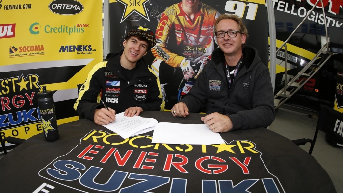 Jeremy Seewer signs two year extension with Rockstar Energy Suzuki