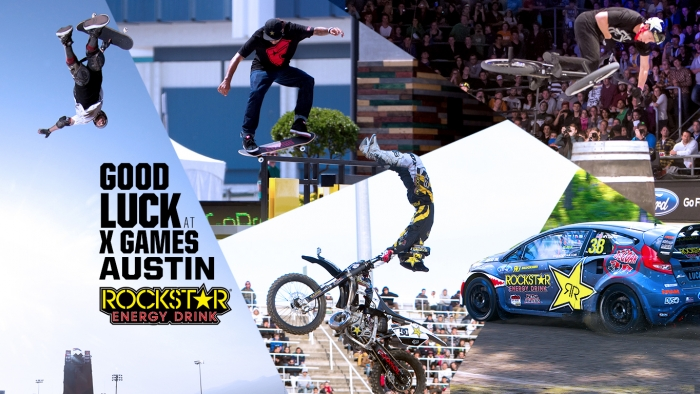 Good Luck at X Games Austin!