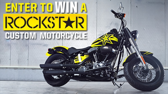 ROCKSTAR CUSTOM MOTORCYCLE SWEEPSTAKES - Rockstar Energy Drink cc90d9984df4