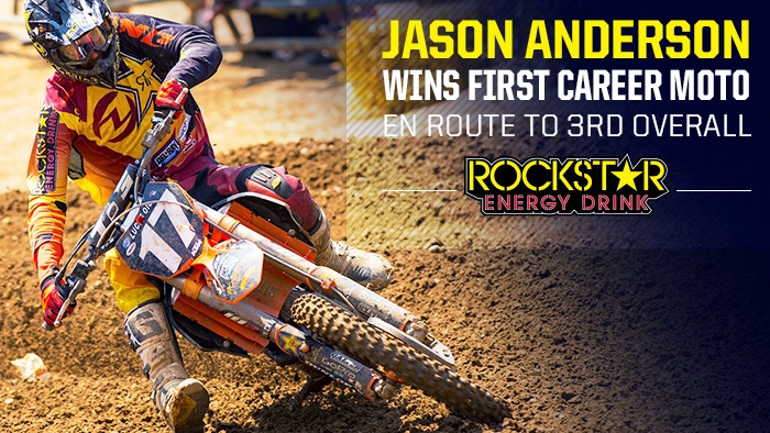 Jason Anderson Wins First Career Outdoor Moto