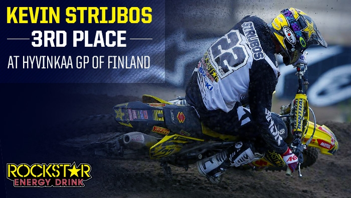 More Podium Success for Strijbos in Finland