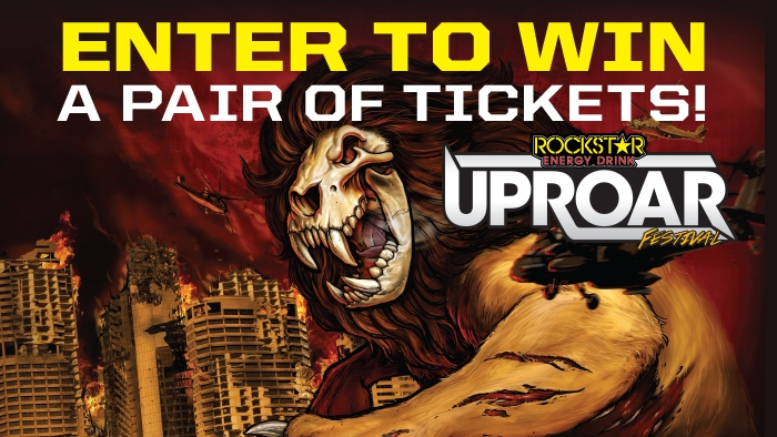 ROBERT'S OIL & ROCKSTAR - UPROAR Ballot Box Sweepstakes
