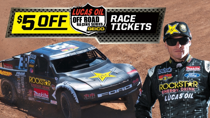 Speedee Mart and Rockstar Lucas Oil Off Road $5-off Coupon