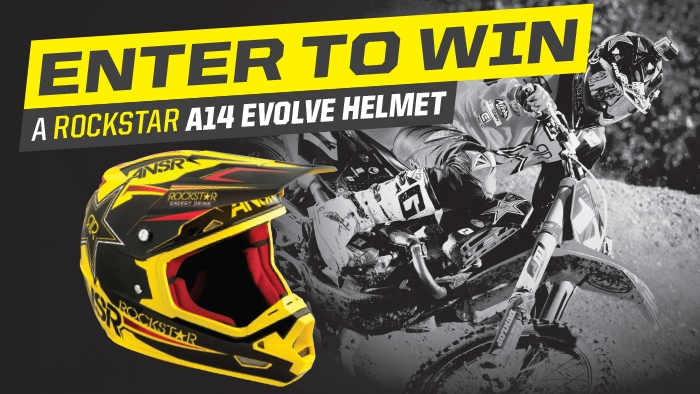 ROCKSTAR AND FOOD CITY HELMET SWEEPSTAKES