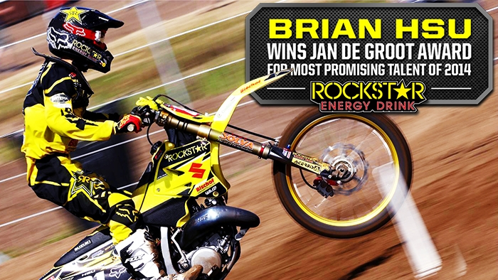 Brian Hsu Awarded Jan de Groot Honor