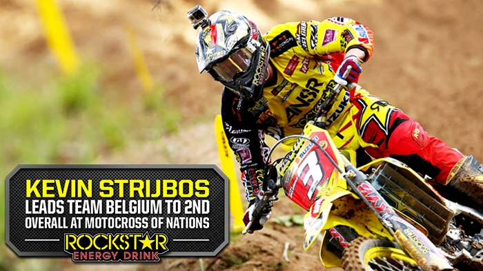 Kevin Strijbos Leads Belgium to 2nd Overall at MXoN