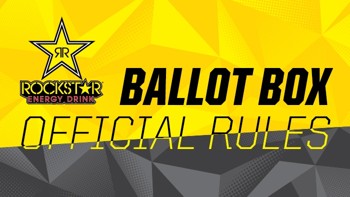 Rockstar Energy Ballot Box Rules