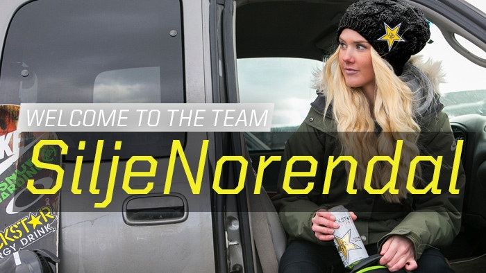 Welcome to the team, Silje Norendal