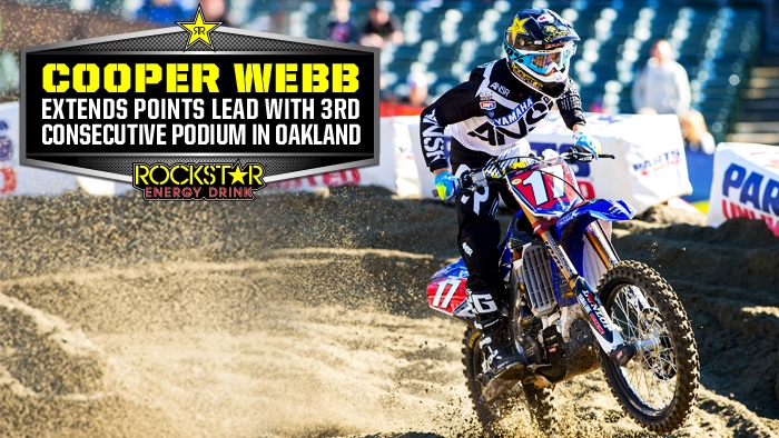 Webb Extends Points Lead in Oakland