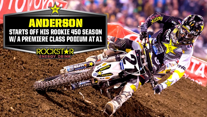 Anderson Mature in Round 1 Podium