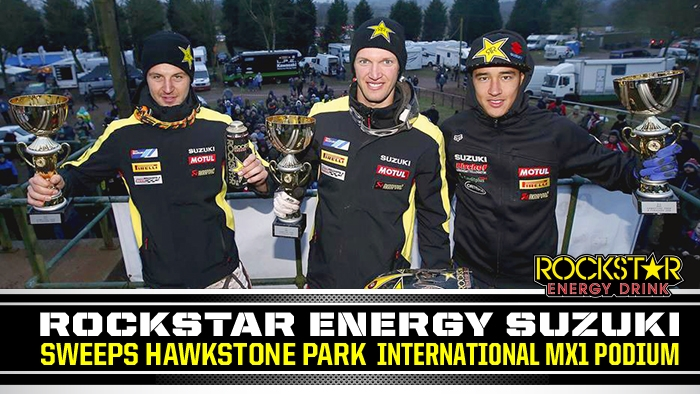 Strijbos, Desalle, Coldenhoff 1,2,3 at Hawkstone Int'l