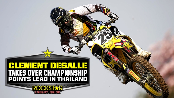 Desalle Takes Red Plate with Thai Podium
