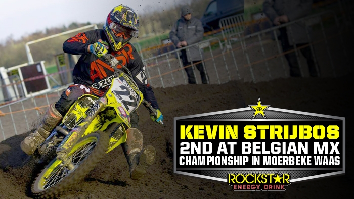 Strijbos on Podium in Belgian MX Championship