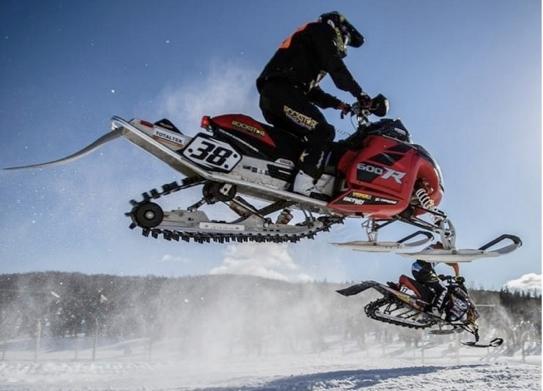 Iain Hayden Prevails at FIM Snowcross Championship in Sweden