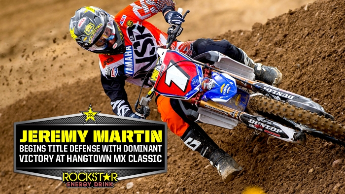 Jeremy Martin Victorious at Round 1