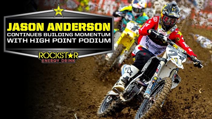 Jason Anderson Records Second Straight 450 Podium